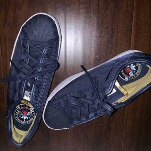 Street style sneakers; worn once